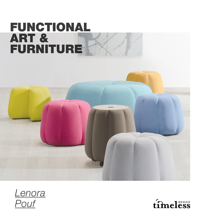 Lenora Pouf-Small - Timeless Design