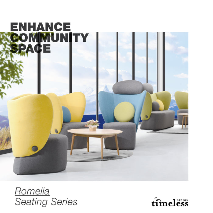 Romelia Mid Back Single Seater - Timeless Design