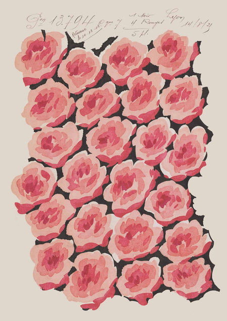 Baby Rose - Vintage Archive Poster Prints