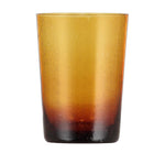 BRITISH COLOUR STANDARD - 11cm H / 4.25'' H Almond Shell Handmade Glass Tumbler