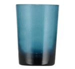 BRITISH COLOUR STANDARD - 11cm H / 4.25'' H Mineral Blue Handmade Glass Tumbler
