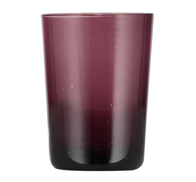 BRITISH COLOUR STANDARD - 11cm H / 4.25'' H Garnet Handmade Glass Tumbler