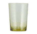BRITISH COLOUR STANDARD - 11cm H / 4.25'' H Tuscan Yellow Handmade Glass Tumbler