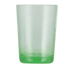 BRITISH COLOUR STANDARD - 11cm H / 4.25'' H Malachite Green Handmade Glass Tumbler