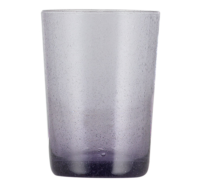 BRITISH COLOUR STANDARD -  110cm H / 4.25'' H Violet Handmade Glass Tumbler