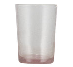 BRITISH COLOUR STANDARD - 11cm H / 4.25'' H Old Rose Handmade Glass Tumbler