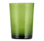 BRITISH COLOUR STANDARD - 11cm H / 4.25'' H Apple Green Handmade Glass Tumbler