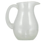 BRITISH COLOUR STANDARD - 1.5 L / 1.5 US Quarts Pearl White Handmade Glass Jug