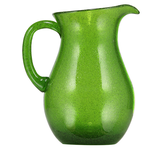 BRITISH COLOUR STANDARD - 1.5 L / 1.5 US Quarts Apple Green Handmade Glass Jug