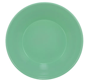 BRITISH COLOUR STANDARD - 17.2 cm D / 6.77'' Enamel Small Bowl in Porcelain Green, Boxed Set of 4