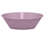 BRITISH COLOUR STANDARD - 17.2 cm D / 6.77'' Enamel Small Bowl in Lavender Grey, Boxed Set of 4