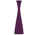 BRITISH COLOUR STANDARD - 25cm H / 9.8'' H  Tall Doge Purple Wooden Candle Holder