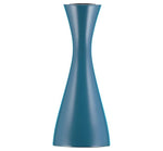 BRITISH COLOUR STANDARD - 15cm H / 5.9'' H Medium Petrol Blue Candleholder