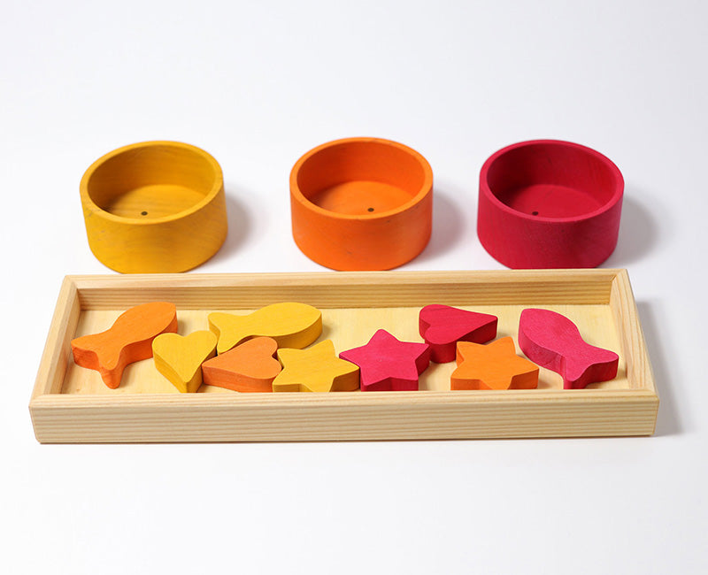 Rainbow bowls sorting game