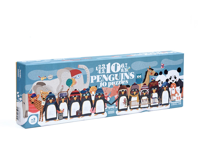 10 Penguins puzzle