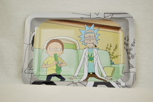 """Interdimensional Cable""Rick n Morty Tin tray"