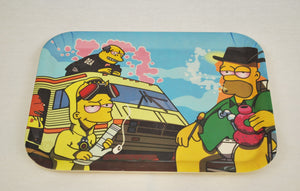 """Breaking Dabs"" Simpson XL Tray"