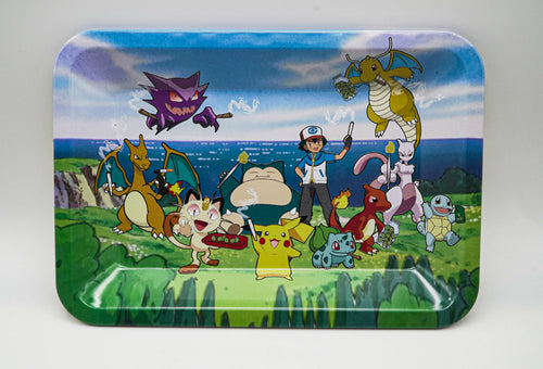 """Pokemon Sesh"" Tin Tray"