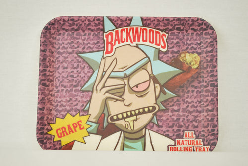 Backwoods: Rick Genius Brainwaves Bamboo Tray XL