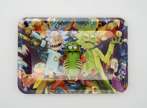 Abomination of Science 2.0 Rick and Morty Tin Rolling Trays