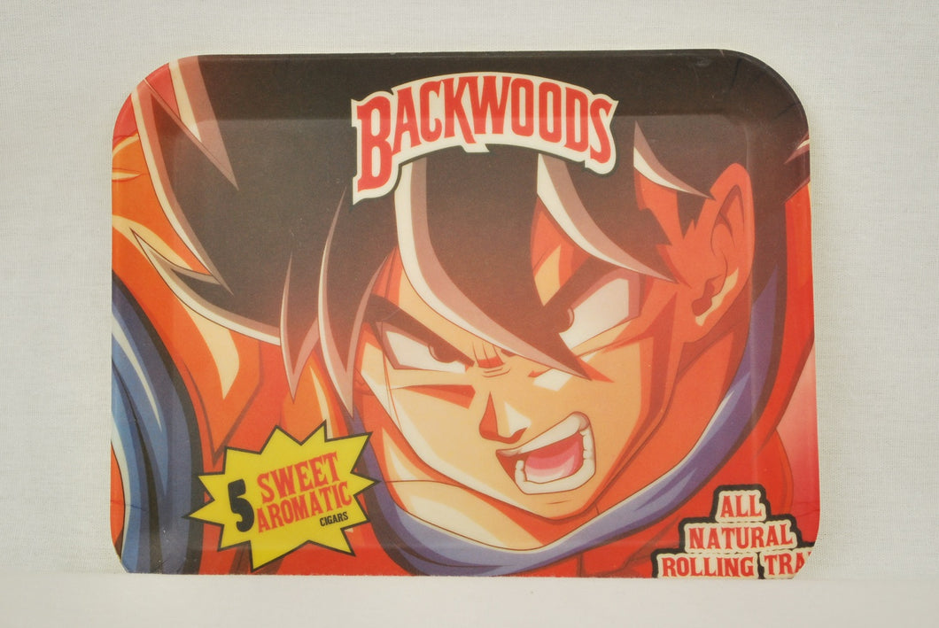 Backwoods: Goku's Rage Bamboo Tray