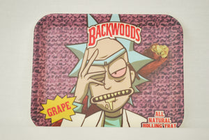 Backwoods: Rick Genius Brainwaves Bamboo Tray