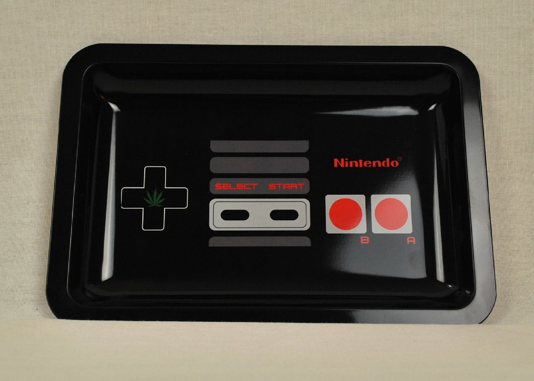 NES Nintendo Entertainment System Tin Rolling Tray