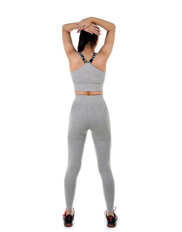 LOSHA COTTON ACTIVE TIGHTS-GREY