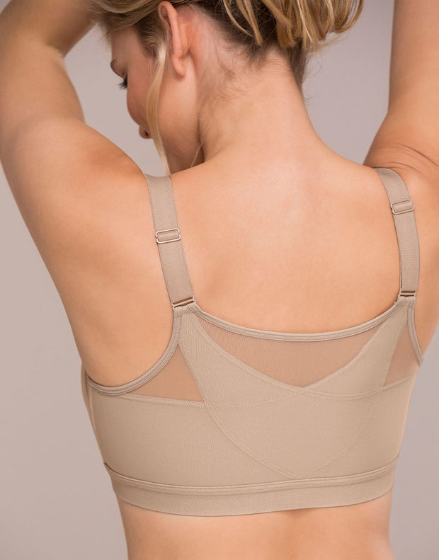 Posture Correcter Wireless Bra With Back Support & Contour Cups
