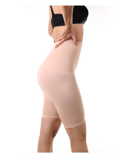 LOSHA COTTON INFUSED SEAMLESS MEDIUM COMPRESSION THIGH SHAPING BRIEF