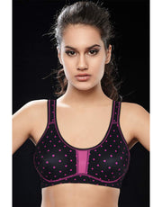 PENNY ACTIVE PRINTED YOGA BRA WITH VEGA-CUP