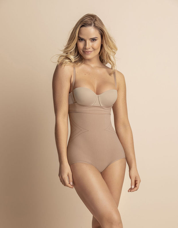 LEONISA SMOOTH TUMMY INVISIBLE STRAPLESS CLASSIC SHAPER