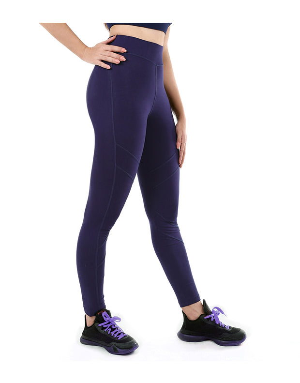 LOSHA COTTON ACTIVE TIGHTS-NAVY