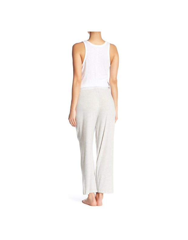 TAHARI WIDE WAISTBAND SINGLE PANT-GREY