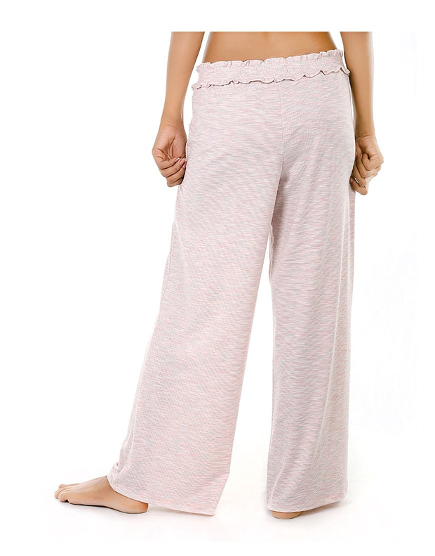 CM SMOCKED PANT HEATHER PINK