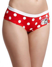Coucou Teens Polka Dotted Stretch Cotton Hipster Brief (Pack of 2)
