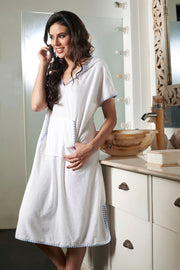 Penny Terry-fic Slip On Style Hooded Bathrobe