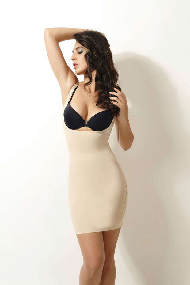 Penny 12 Hour Thinvisible Open bust Shaping Slip