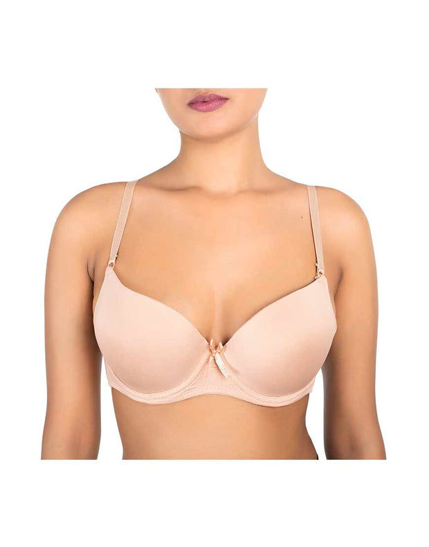 Level 2 Push-up Bra-Nude