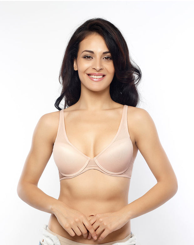 Penny Very Vital & LBB Sheer Comfort Padded Underwired Bra