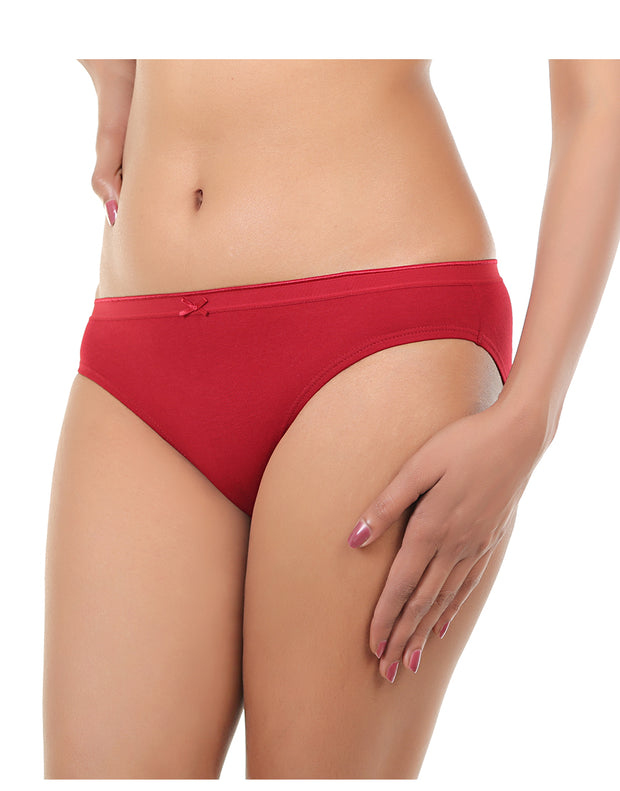 Losha Pack OF 3 Cotton Panties -Assorted