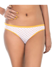 Pack of 5 Cotton Bikini Briefs-Sun Flowers