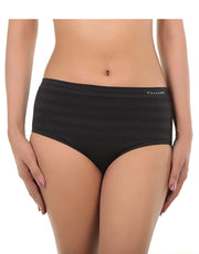 Tahari Pack of 3 Seamless Briefs-Solid Self Stripes