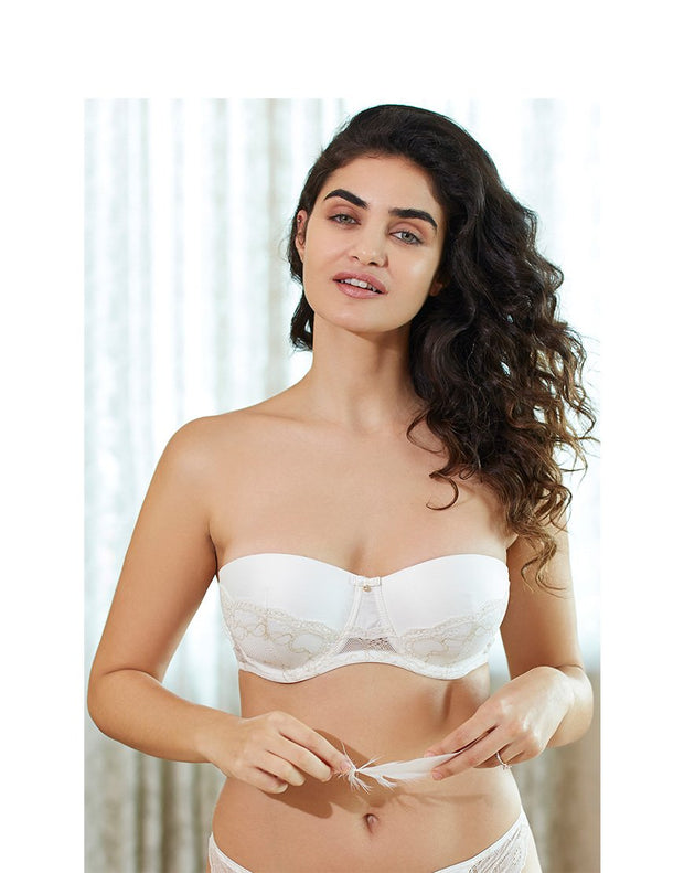 Satine Brides Strapless Padded Balconette Bra