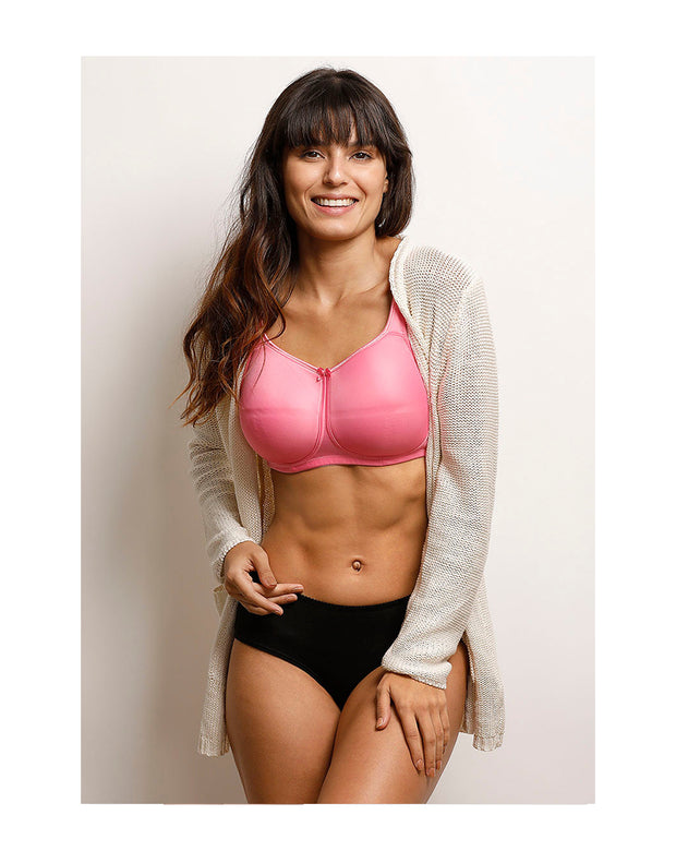 True Curve Support Full Coverage Bra-Pink