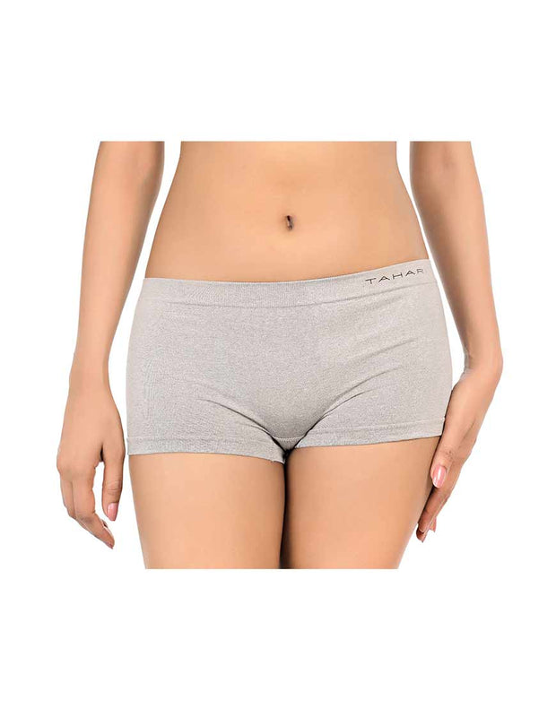 TAHARI PACK OF 3 SEAMLESS HIGH WAISTED BOYSHORT