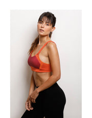 High Impact Sports Bra - Flame