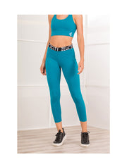 Losha Active Peacock Blue Tights