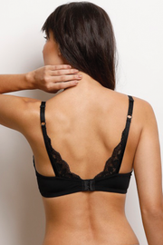 Wireless Go To T-Shirt Bra With a Touch Of Lace