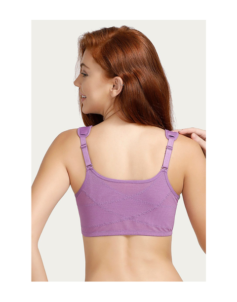 True Curve Wirefree Super Support Bra-Lavender